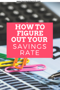 How To Figure Out Your Savings Rate
