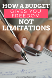 How A Budget Gives You Freedom Not Limitations