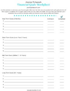 financial-goals-worksheet