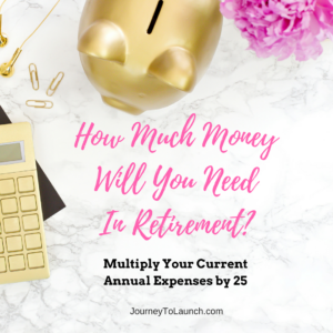 How much money will you need in retirement?