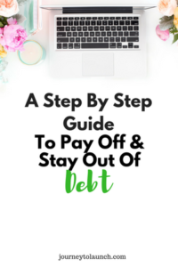 Pay Off & Stay Out Of Debt
